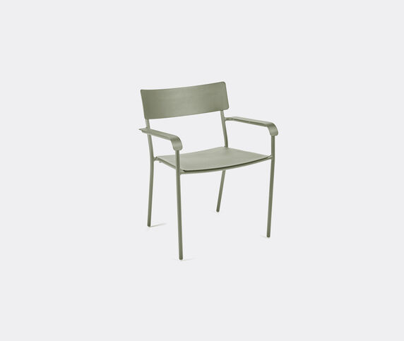 Serax 'August' chair with armrests, light green