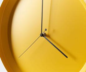 Atipico Dish Clock Iron Wall Clock - Ø Mm 335Xh.35 - Honey Yellow 3