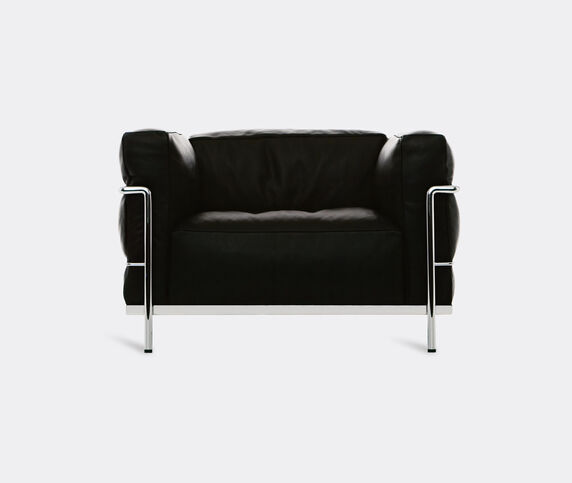 Cassina 'LC3' armchair, black