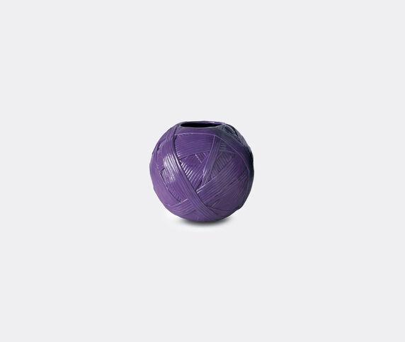 Missoni 'Gomitolo' vase, small, purple