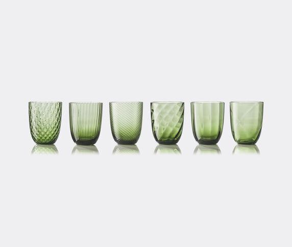 NasonMoretti 'Idra' water glass, set of six, soraya green