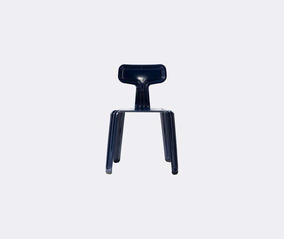 Nils Holger Moormann 'Pressed Chair', glossy blue
