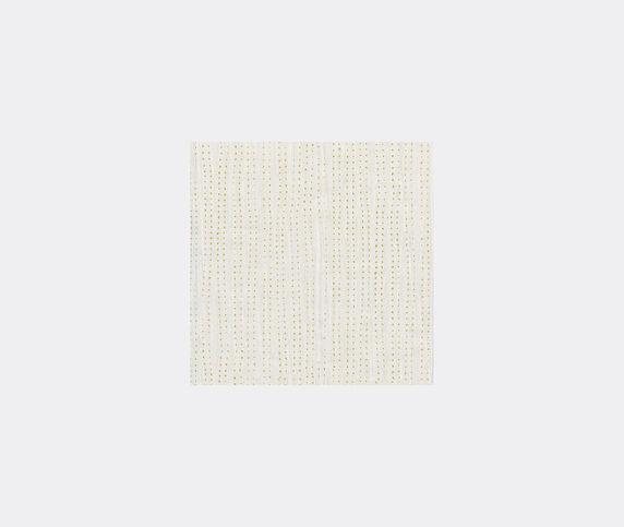Wall&decò 'Vago' wallpaper, gold and white