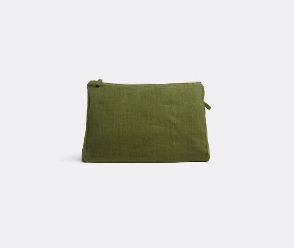 Once Milano Pochette, large, green