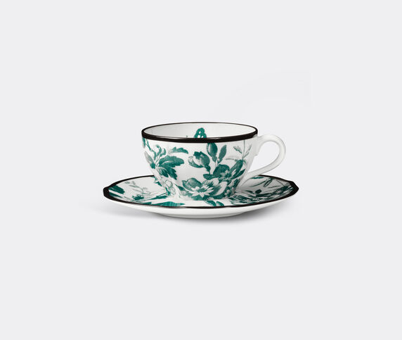 Gucci 'Herbarium' demitasse cup with saucer, set of two