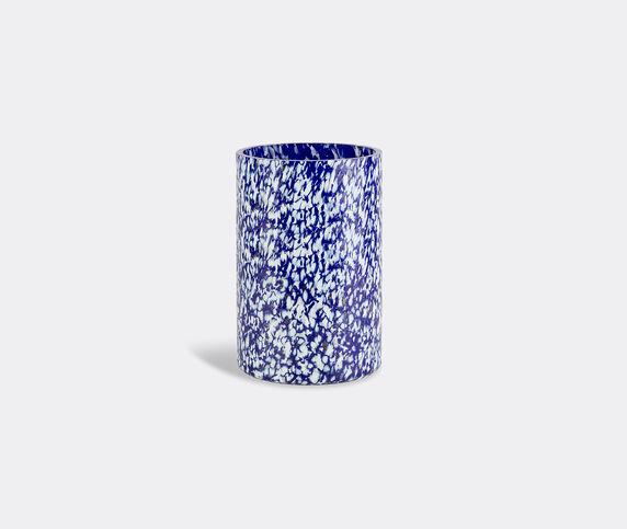 Stories of Italy 'Macchia su Macchia' ivory and blue vase, tall