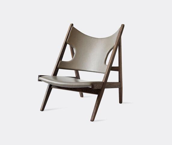 Menu 'Knitting' chair, leather
