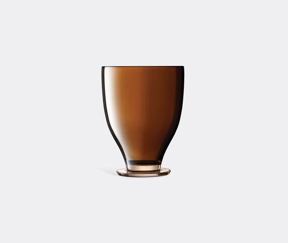 LSA International 'Epoque' champagne bucket, amber