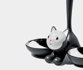 Alessi Tigrito,Cat Bowl Black 2