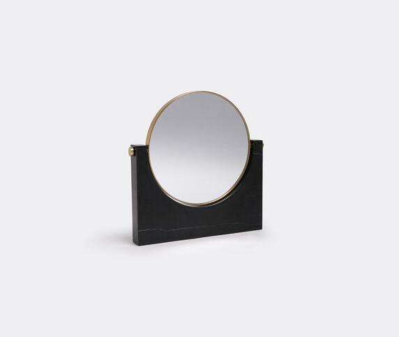 Menu 'Pepe' marble mirror, black