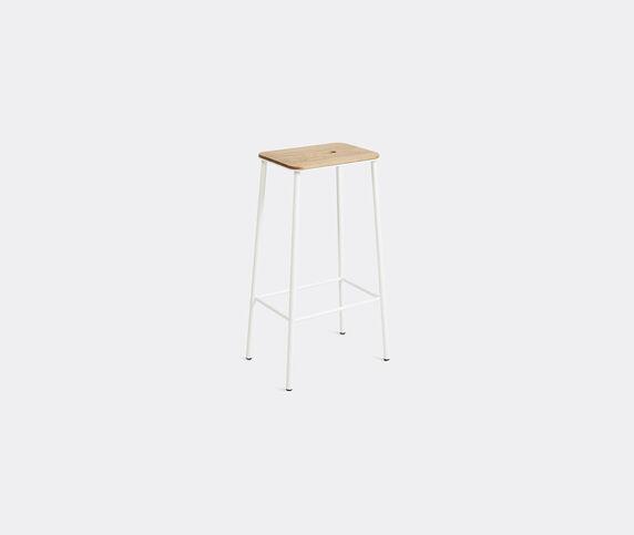 Frama 'Adam' stool, L, oak and white