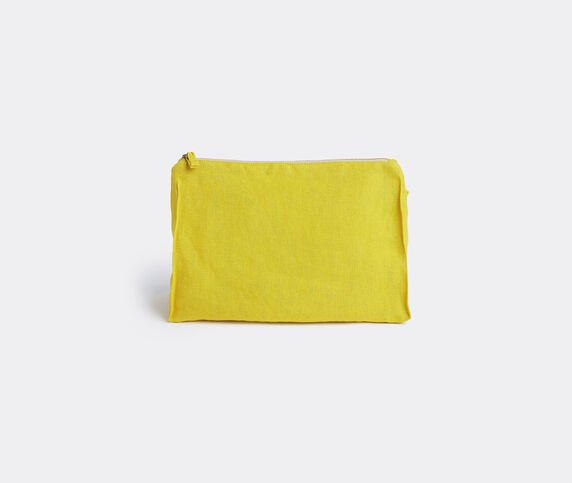 Once Milano Pochette, large, yellow
