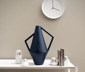 Atipico Koravase Ceramic Vase - Ø Mm 160Xh.350 - Col. Steel Blue 3