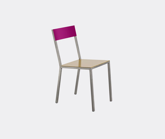Valerie_objects 'Alu' chair, curry purple