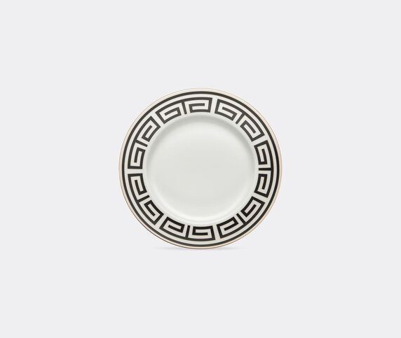 Ginori 1735 'Labirinto' round platter, black