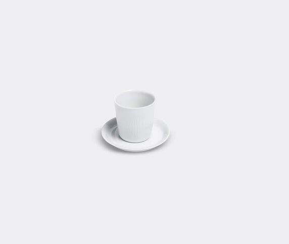 Lyngby Porcelæn 'Thermodan' coffee cup and saucer
