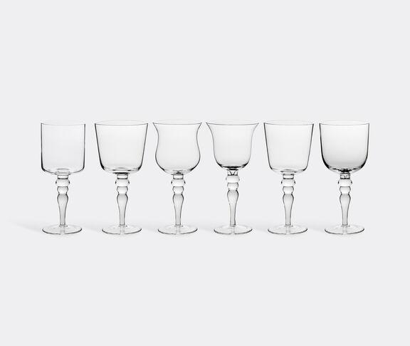 Bitossi Home Set of six glasses, clear