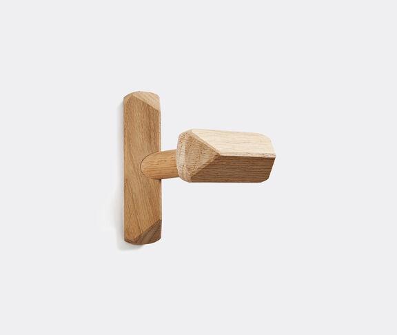Atipico Hop Wall Hangers - 3 7/8''X 3 7/8''X H.4 1/4'' - Oak - Natural 1
