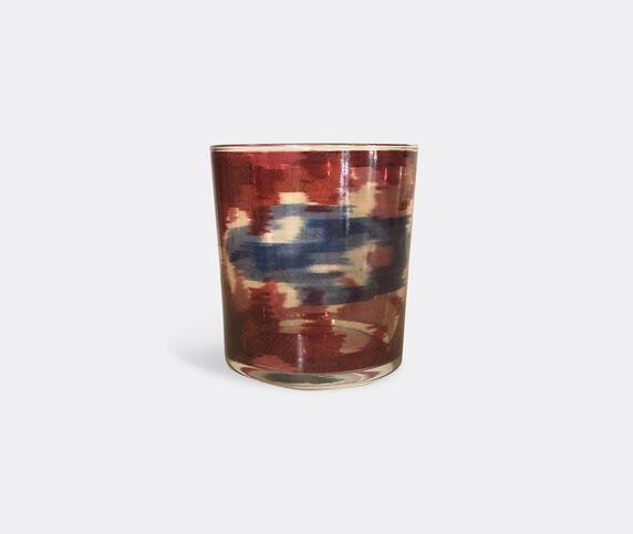 Les-Ottomans 'Ikat' glass set of four