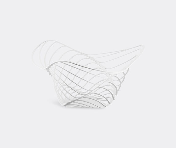 Alessi 'Trinity' citrus basket, white