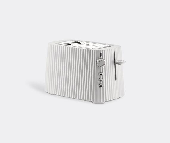 Alessi 'Plissé' toaster, white, UK plug