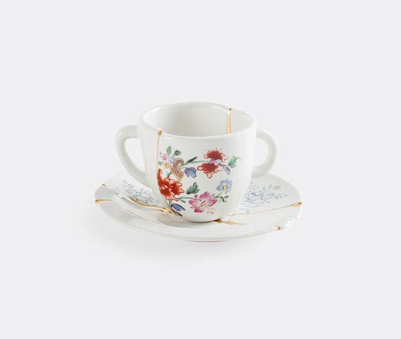 Seletti 'Kintsugi' coffee cup and saucer