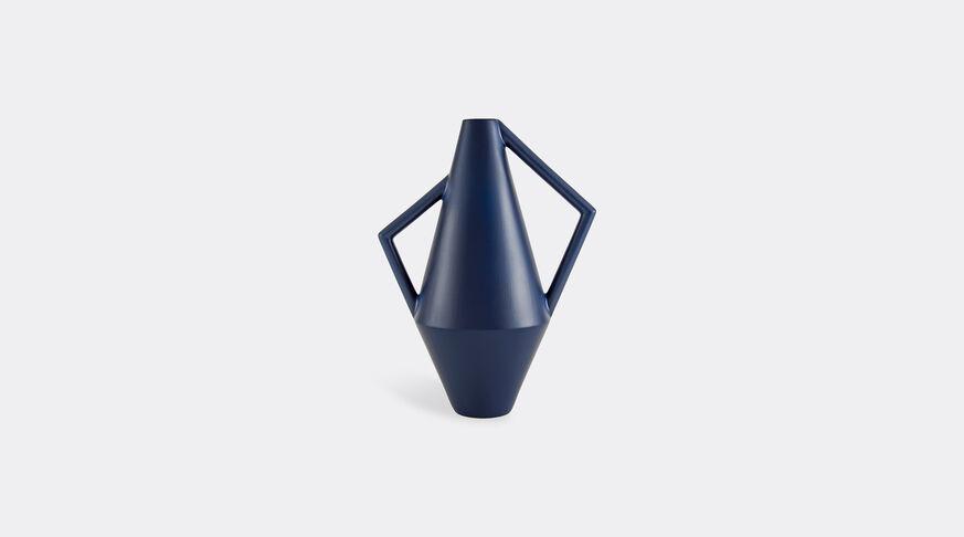 Atipico Koravase Ceramic Vase - Ø Mm 160Xh.350 - Col. Steel Blue 1