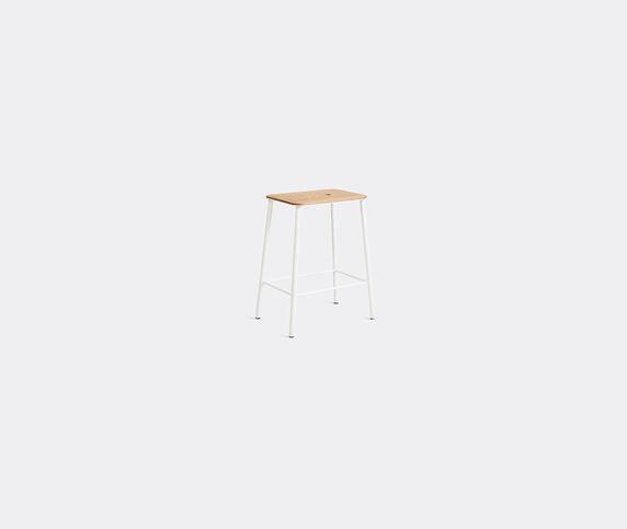 Frama 'Adam' stool, S, oak and white