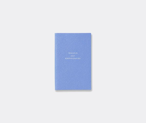 Smythson 'Travels and Experiences' notebook, Nile blue