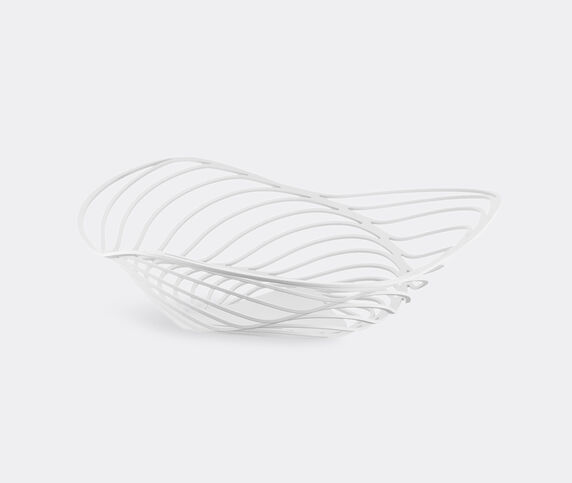 Alessi 'Trinity' basket, white