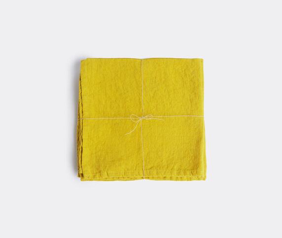 Once Milano Napkins, set of four, yellow