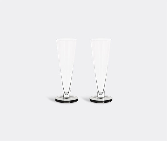 Tom Dixon 'Puck' flute glass, set of two