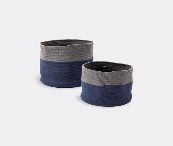 Cassina 'Podor' baskets, set of two, blue & grey