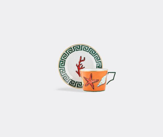 Ginori 1735 'Il Viaggio di Nettuno' tea cups and saucers, set of two