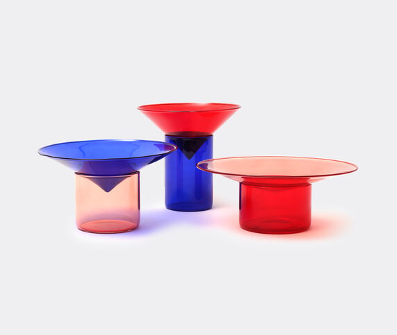 Tre Product 'Vovo' glasses, blue, pink and red