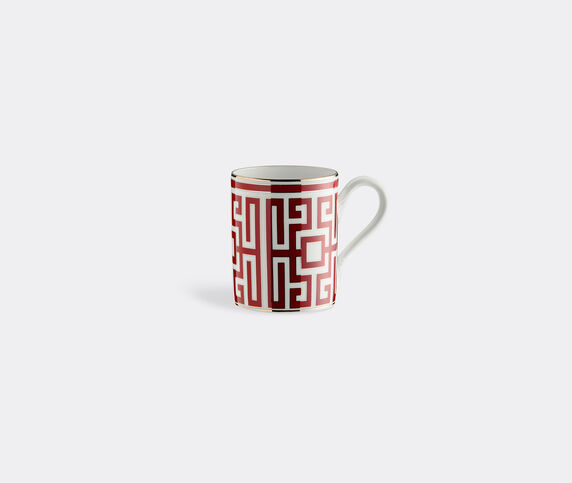 Ginori 1735 'Labirinto' mug, red