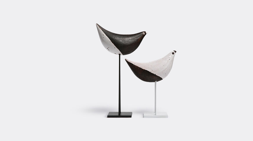 Bitossi Ceramiche Set Of 2 Birds On Stand 1