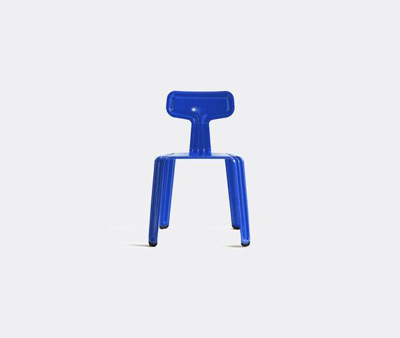 Nils Holger Moormann 'Pressed Chair', glossy blue collar