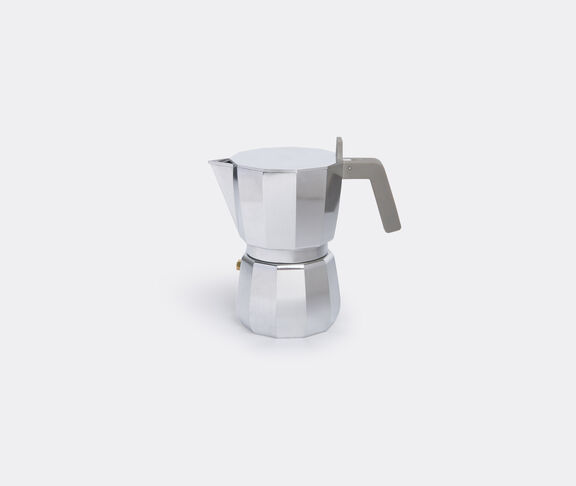 Alessi 'Moka' espresso coffee maker, three cups