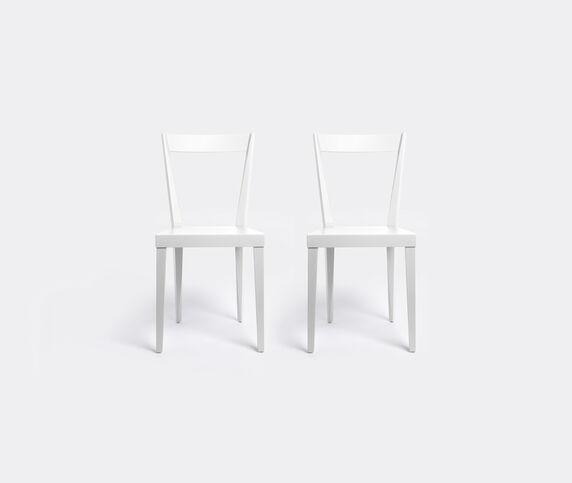 L'Abbate 'Livia' chair, white
