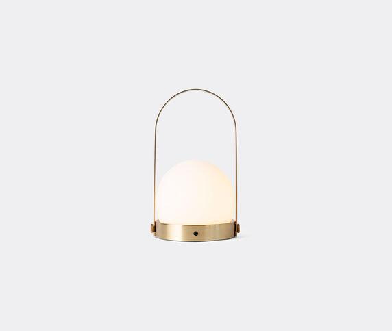 Menu 'Carrie' lamp, brushed brass, EU plug