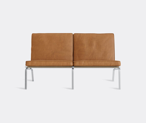 NORR11 'The Man' two seat couch, cognac
