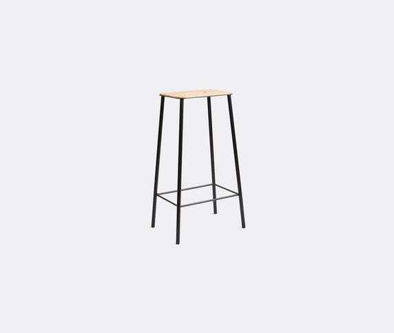 Frama 'Adam' stool, L, oak and black