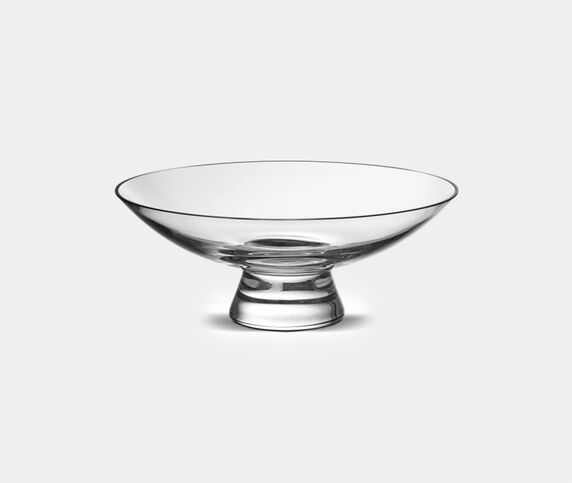 Nude 'Silhouette' bowl, large, clear