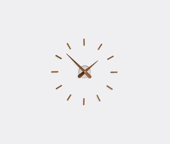 Nomon 'Sunset' clock, walnut and chrome