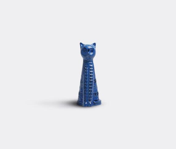 Bitossi Ceramiche 'Rimini blu' tall cat figure
