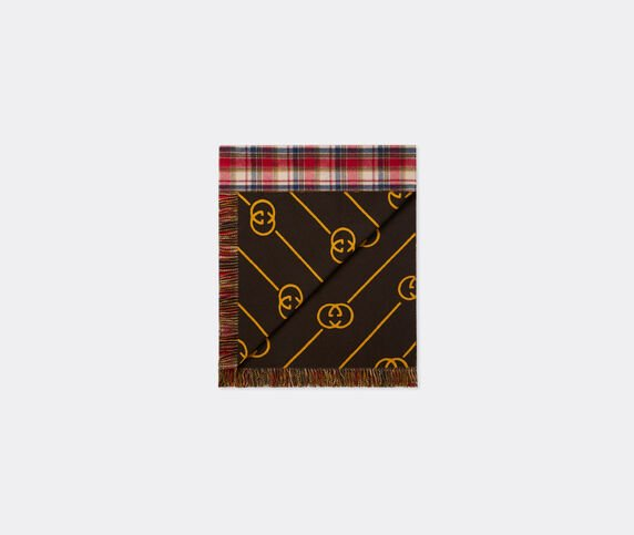 Gucci Blanket, red plaid