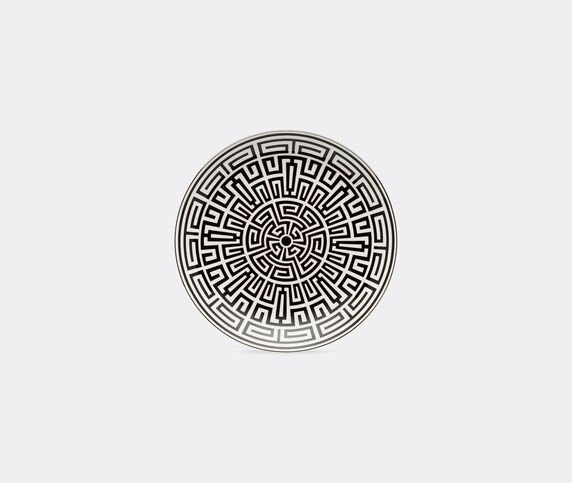 Ginori 1735 'Labirinto' Venezia shape plate, black