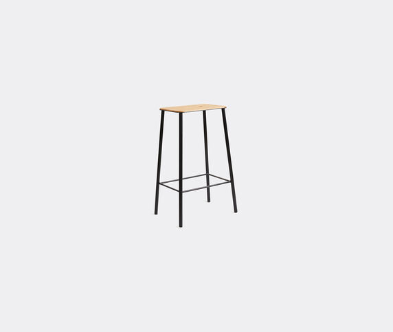 Frama 'Adam' stool, M, oak and black