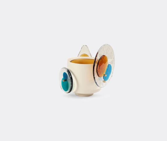 Cassina 'Colourdisc' medium vase, amber